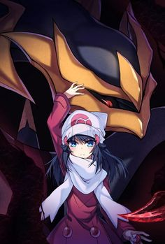 My goodness. This is the terrifying child you play as in the games. Not those stupid kid anime characters. This is what Pokemon really looks like in my mind. (From Pokemon) Pokemon Mew, Pokemon Fan Art, Pikachu, Giratina Pokemon, Gijinka Pokemon, Pokemon Pearl, Pokemon Tattoo, Nintendo Pokemon, Pokemon Mignon