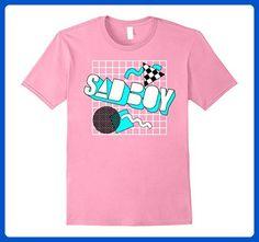 42e925893 Mens Vapor Wave Aesthetic Sad Boy 80's Style Retro Otaku Geo Tee XL Pink -  Retro shirts (*Amazon Partner-Link)