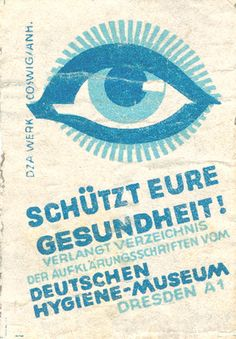 German matchbox label by Shailesh Chavda, via Flickr