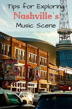Tips for Exploring Nashville's Music Scene Tips and tricks to explore Nashville's Music Scene. Finding the best spots in Music City. Nashville Vacation, Nashville Music, Tennessee Vacation, Nashville Tennessee, Tennessee Waltz, Travel Usa, Travel Tips, Travel Ideas, Travel Books