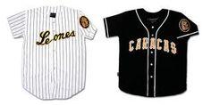El uniforme de Los Leones del Caracas