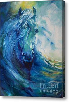 Wave Runner Blue Ghost, Marica Baldwin