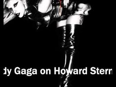 Lady Gaga performs The Edge Of Glory on The Howard Stern Show SiriusXM