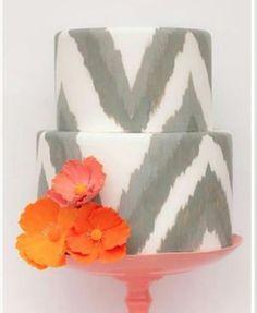 Cool cake pattern!