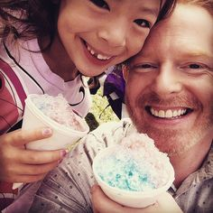 Pin for Later: This Week's Cutest Celebrity Candids Jesse Tyler Ferguson Jesse Tyler Ferguson wished his onscreen daughter a happy eighth birthday!
