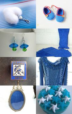All you need is blue by Nathalie on Etsy--Pinned with TreasuryPin.com