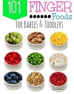 Sometimes you just need a little something to help think outside the box. Providing a variety of finger foods is so important for baby nutrition!