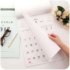 Desain Buku Agenda  Annual Calendar    Contoh Buku Agenda