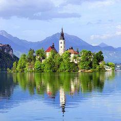 Refreshing. Slovenia. #travelnoire #slovenia by travelnoire
