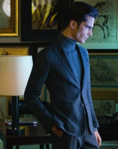 Janice Fronimakis & Zhao Lei Display the Power of Elegance for Armani Collezioni Fall/Winter 2012