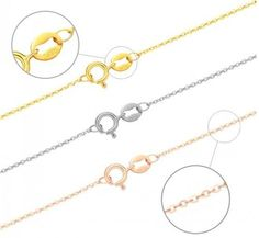 """Fashion 1pcs 18K Yellow Gold Filled 1.2mm """"O"""" Women Chain Necklace Jewelry 18"""" #Unbranded #Chain"""
