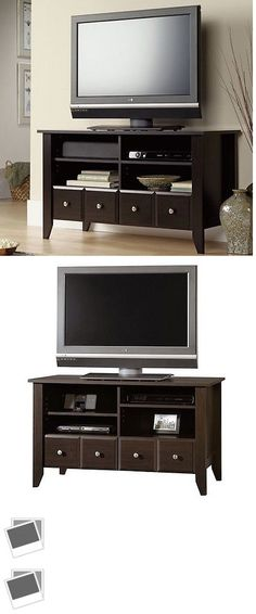 Wood Tv Stand Modern Home Furniture Cabinet Sto... - Exclusively on #priceabate #priceabateFurniture! BUY IT NOW ONLY $160.45