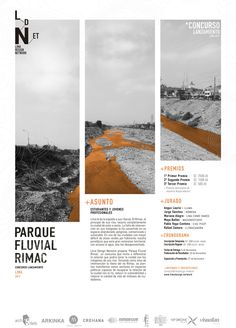 Gallery of Ideas Competition for the Rímac Fluvial Park: Exploring the relationship between the city of Lima and the banks of its rivers - 1 - Layout Graphic Design Magazine, Magazine Design Inspiration, Magazine Layout Design, Graphic Design Inspiration, Layout Inspiration, Page Layout Design, Graphisches Design, Graphic Design Layouts, Graphic Design Books