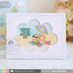 mama elephant | Stamp Highlight: BEACH CHICKIES