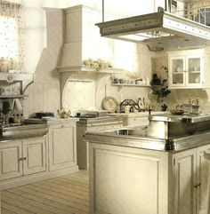 16 best Cucine country chic-Kitchens-Cuisines images on Pinterest ...