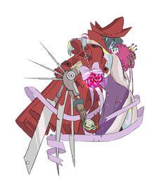 Older anime flapback drawings by Natazilla