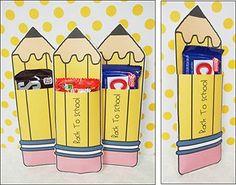 Back To School Pencils Manualidades Pinterest Muy