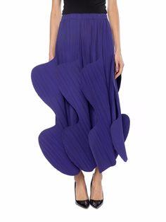 Issey Miyake Sculptural Pleated Skirt