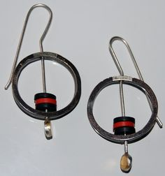 Very Mod Sterling Silver Earrings  FREE SHIPPING by thisismade, $116.00