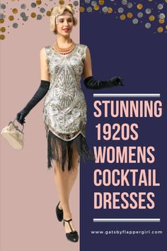 We have a wide range of stunning and glamorous 1920s womens cocktail and party dresses! Click here to see all our range - Have the dress eveyone is envious of and look amazing! 1920s Cocktail Dresses, Womens Cocktail Dresses, 20s Party, Great Gatsby Party, Fashion Drawing Tutorial, Great Gatsby Dresses, Flapper Style, Party Dresses, Vintage Inspired