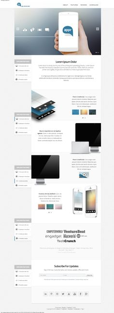One page Wordpress theme http://bootscode.com/technology/appr-one-page-wordpress-showcase-theme-for-apps/