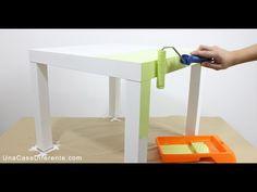 Cómo pintar muebles de melamina - Una Casa Diferente