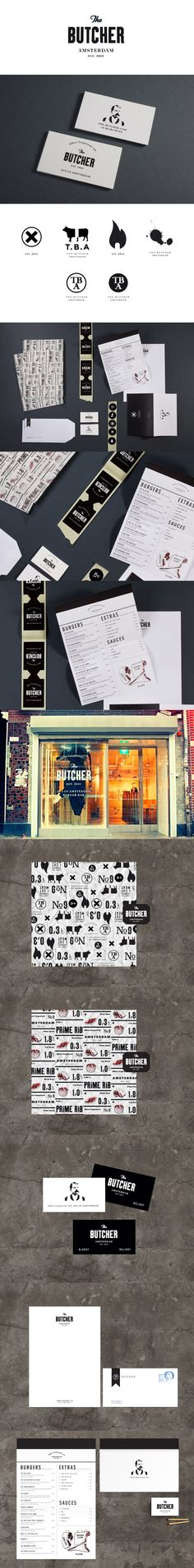 Identity / koniakdesign / the butcher