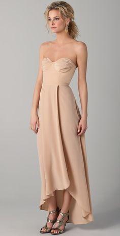 Bridesmaid http://pinterest.com/senakwon/wedding-inspiration-from-shopbop-com/#Dress