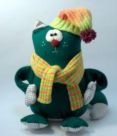 Текстильная игрушка ручной работы от Greenlinegoods на Etsy