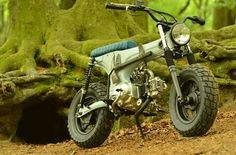 Dax Custom Mini Bike, Custom Bikes, Honda Motors, Honda Bikes, Brat Bike, Motorcycle Bike, Street Tracker, Vintage Moped, Hors Route