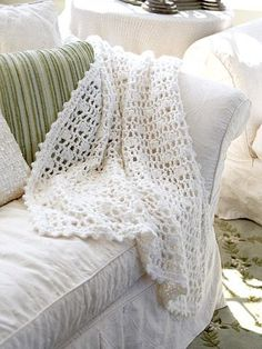 Beautiful Crochet Afghan free pattern.