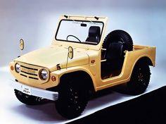 Suzuki Jimny (1970 – 1972).