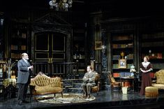 Major Barbara. Shakespeare Theatre Company. Set design by James Noone.  2008.