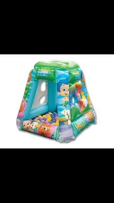 (NEW) Bubble Guppies Bed Tent with Push Light Fits Twin Bed Multi Colored | Bubble Guppies Toys | Pinterest | Bubble guppies Infant toddler and Infant & NEW) Bubble Guppies Bed Tent with Push Light Fits Twin Bed Multi ...