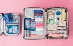 Cómo doblar la ropa, ahorrar espacio y organizar la maleta para que quepa mucho más y tenerlo todo ordenado