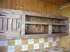 Деревянная кухня своими руками   ВСЁ СВОЁ!