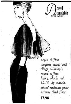New York Times, 17 June Arnold Constable advertisement. New York Times, Vintage Advertisements, Claire, Advertising, June, Vintage Fashion, Paper, Fashion Vintage, Preppy Fashion