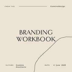 бесплатный воркбук по брендингу, как понять цель и миссию бренда Font Design, Brand Identity Design, Graphic Design Posters, Graphic Design Typography, Layout Design, Branding Design, Typography Inspiration, Graphic Design Inspiration, Typographie Logo