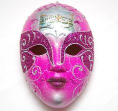 Porcelain Masks Decoration Mardi Gras Porcelain Masks Wall  New Porcelain Mardi Gras Mask