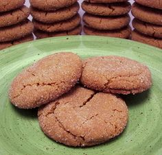 Swedish Gingersnaps....best ginger cookie ever!!!