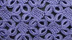 Урок 320 Кружево крючком Сrochet lace motive Вязание крючком - мотив - YouTube