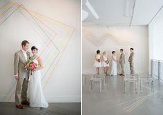 Geometric indie wedding inspiration   http://greenweddingshoes.com/geometric-indie-wed-inspiration/
