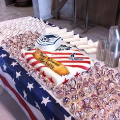 Military Retirement Cake...my BFF made this, she is amazing!