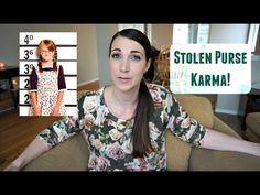 Stolen Purse Karma | Message To BitsAndClips | MamaKatTV - YouTube