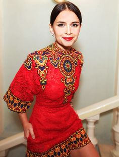 Miroslava Duma woman Of the year 2013 by #glamour_russia #valentino #miraduma #womanofheyear #miroslavaduma #buró_247