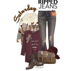 Ripped Jeans for Saturday