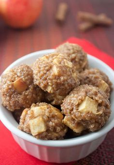 Apple Cinnamon Breakfast Quinoa Bites Recipe