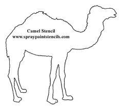 Resultado de imagem para cardboard camel template