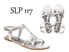Sandalias de piel plateadas. Disponibles en la shop online de www.tantraimpex.com. #tantraimpex #shoponline #summer