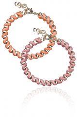 Ada Bracelets Peach/Neon Orange